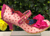 Irregular Choice Summer Breeze Pink Gingham