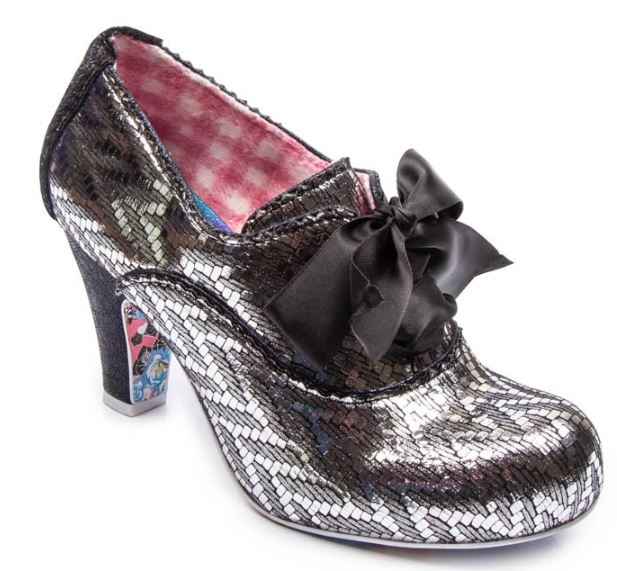 Irregular Choice Summer Berries Black