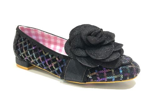 Irregular Choice Sweet Briar Black