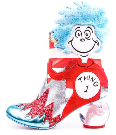 Irregular Choice Cat In The Hat Up Up Up With A Fish