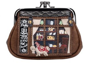 Vendula Winter Café Clipper Coin Purse
