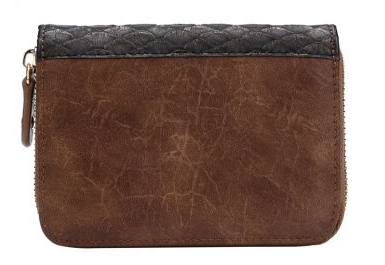 Vendula Winter Café Small Ziparound Wallet