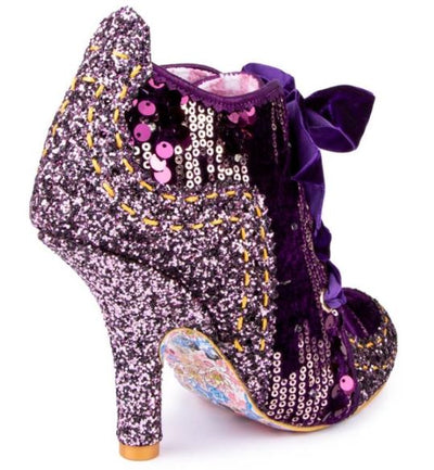 Irregular Choice Party Winter Party Purple
