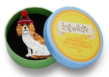 Erstwilder WW Wintertime Walkies Brooch
