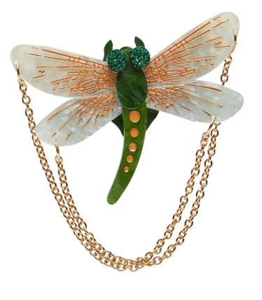 Erstwilder Bugs As The Dragon Flies Brooch