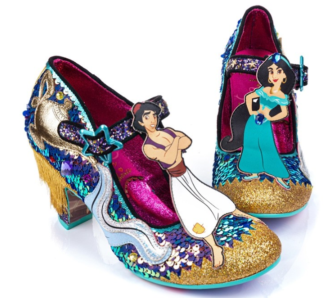 Irregular Choice Aladdin A Whole New World