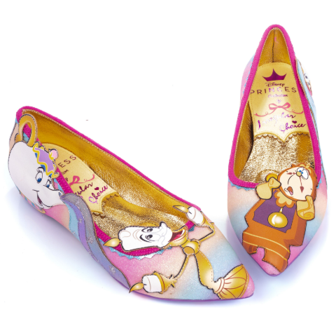 Irregular Choice Beauty and the Beast Be Our Guest