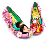 Irregular Choice Mulan Let Dreams Blossom Pink