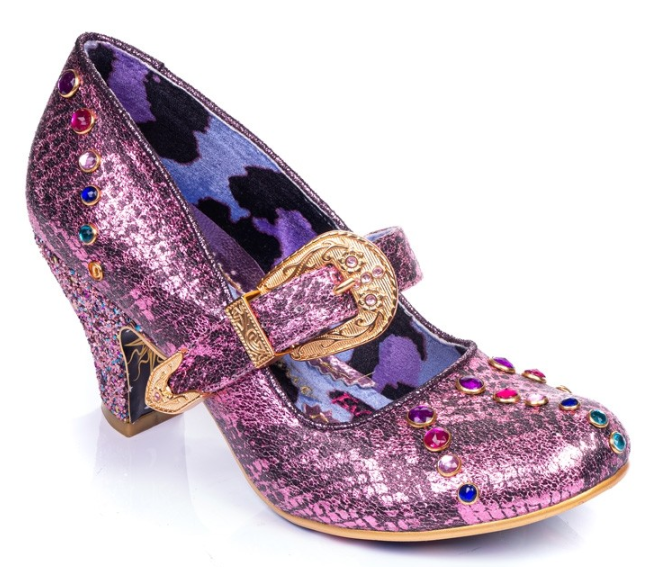Irregular Choice Buckle Down Pink