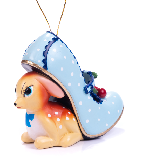 Irregular Choice Ornament Cherry Deer