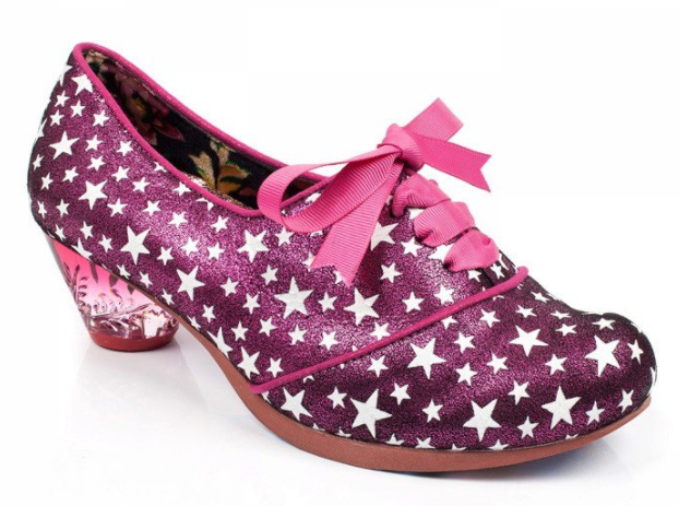 Irregular Choice Curio Low Pink