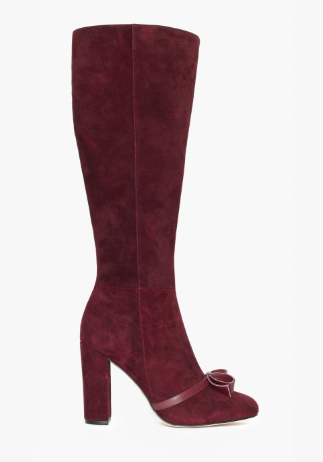 Alannah Hill Dinner Date Knee High Boot Wine