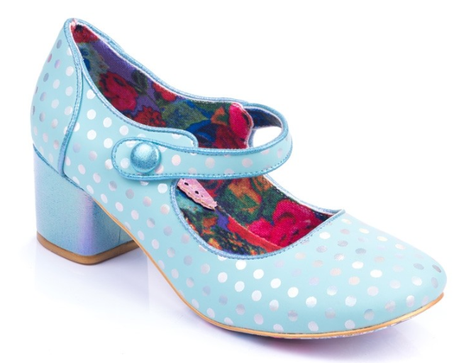 Irregular Choice Dotty For You Green