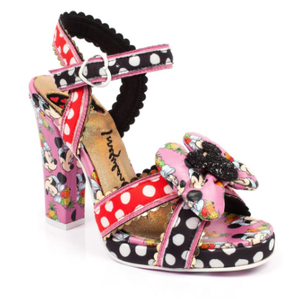 Irregular Choice Mickey Minnie Dotty Minnie
