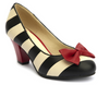 Lola Ramona Elsie Black & Cream Stripe