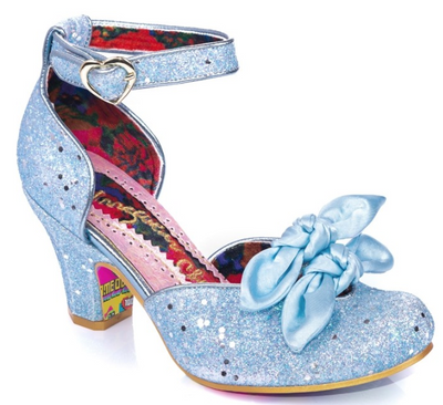Irregular Choice Flickety Kiss Blue