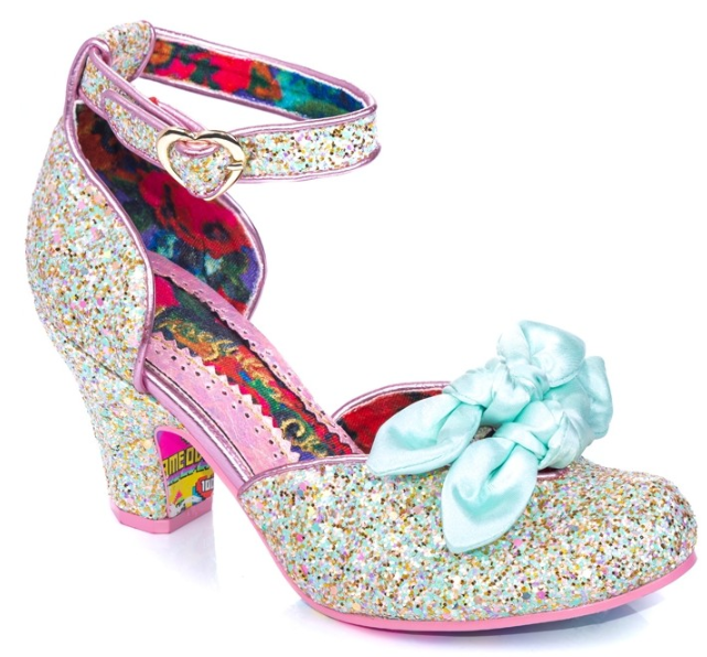 Irregular Choice Flickety Kiss Green