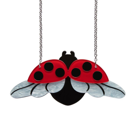 Erstwilder Bugs Fly Away Home Necklace