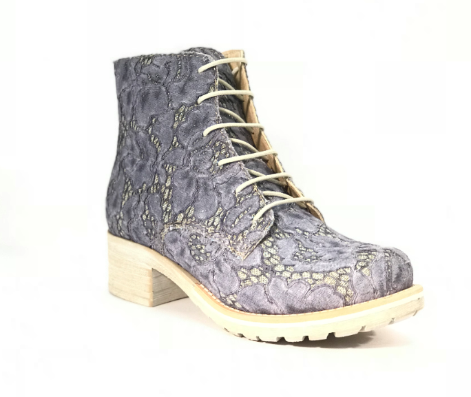 Brako Greta Jean Lace Military Boot