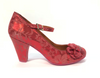 Cristofoli Juliet Red Floral