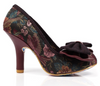 Irregular Choice Mal E Bow Bordeaux