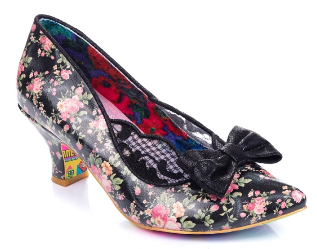 Irregular Choice Marma Ladies Black