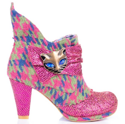Irregular Choice Miaow Pink