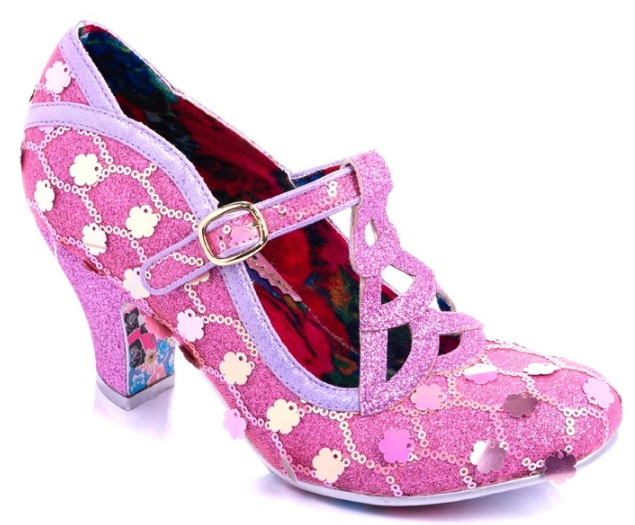 Irregular Choice Nicely Done Pink