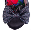 Irregular Choice Nick of Time Black Floral