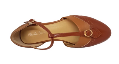 Charlie Stone Parisienne Two Tone Brown