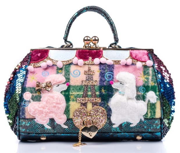 Irregular Choice Party Poodle Bag
