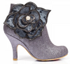 Irregular Choice Pearl Necture Silver