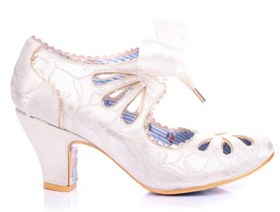 Irregular Choice Sugar Plum White