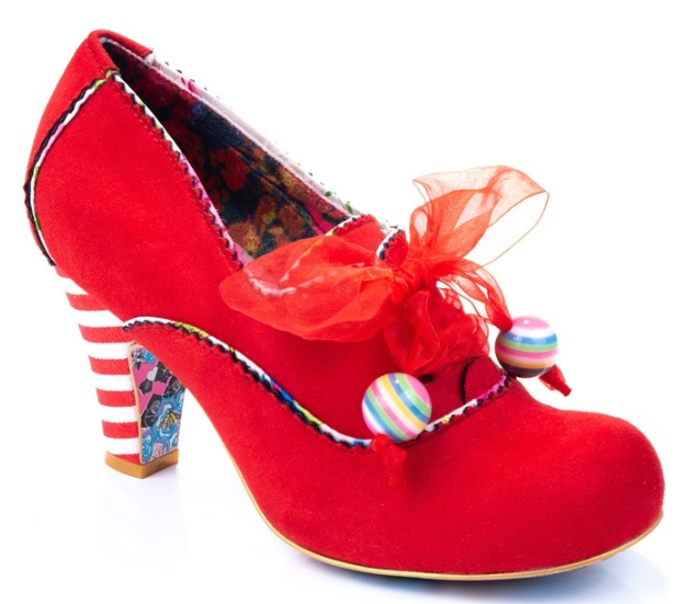 Irregular Choice Summer Berries Red