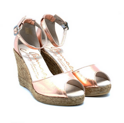 Gaimo Susan Rose Gold Metallic