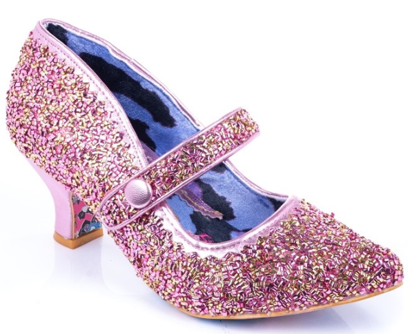 Irregular Choice Zillion Sprinkles Pink