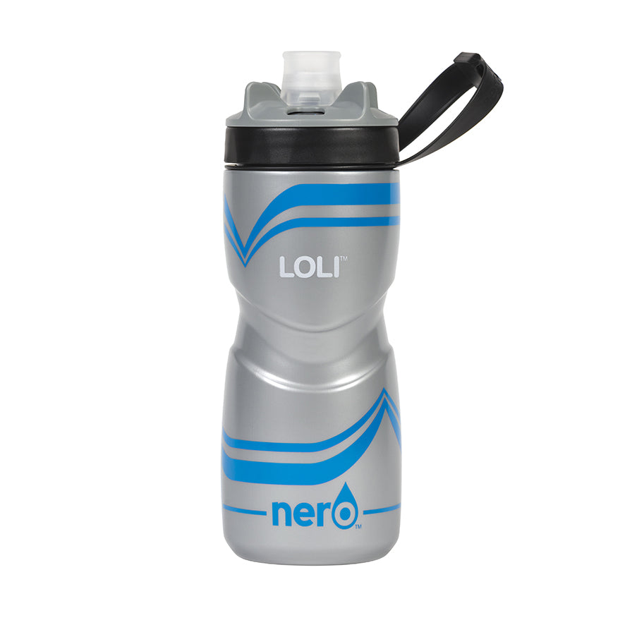 NERO Loli Blue Water Bottle 21 oz Solid