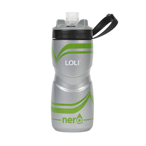NERO Loli Green Water Bottle 21 oz Solid