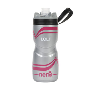 NERO Loli Pink Water Bottle 21 oz Solid