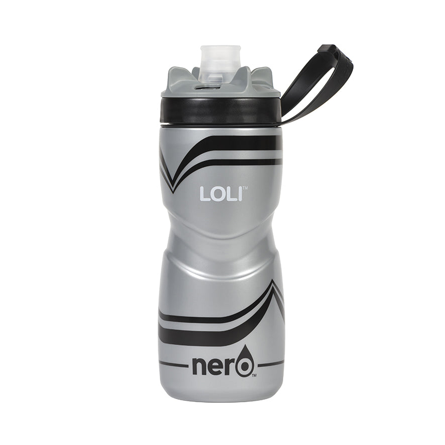 NERO Loli Black Water Bottle 21 oz Solid