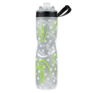 NERO Frio insulated Green Water Bottle 25 oz Negative