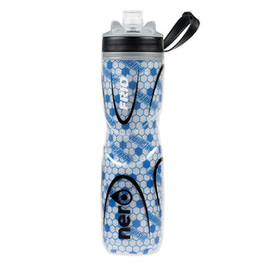 NERO Frio insulated Blue Water Bottle 25 oz Positive