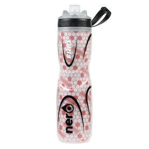 NERO Frio insulated Red Water Bottle 25 oz Positive