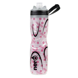 NERO Frio insulated Pink Water Bottle 25 oz Positive