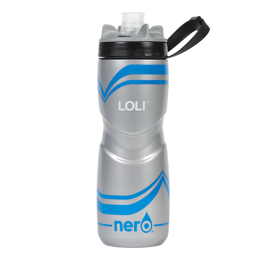 NERO Loli Blue Water Bottle 25 oz Solid