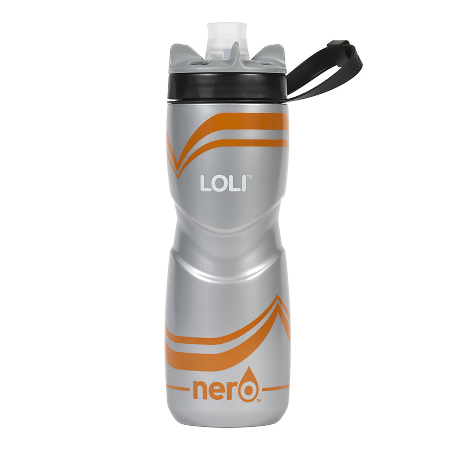 NERO Loli Orange Water Bottle 25 oz Solid