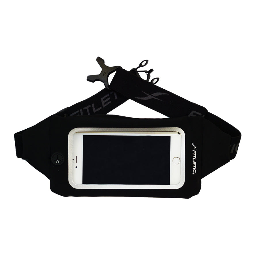 Fitletic Swipe Black Running Belt