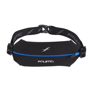 Fitletic Mini Sport Black and Blue Running Belt