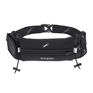 Fitletic Ultimate ll Black Running Belt