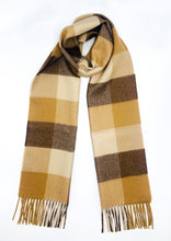 Load image into Gallery viewer, Woven & Brushed Buffalo Baby Alpaca Scarf